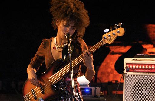 Esperanza Spalding, singer, bassist, composer, in 2009.