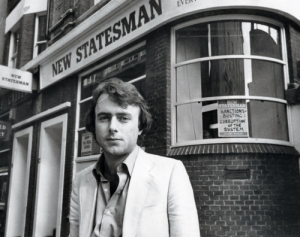 A young Christopher Hitchens.