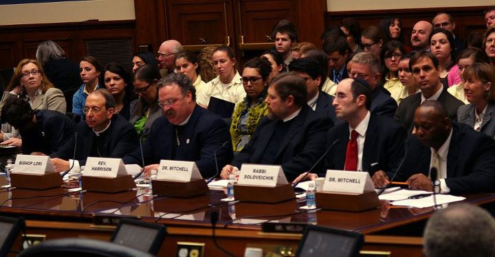 All-male panel about women's healthcare