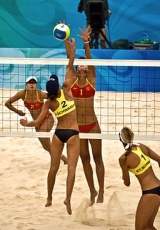 Beach volleyball: let's all be equally naked, please